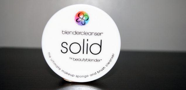 Review & Tutorial: Beauty Blender BlenderCleanser Solid