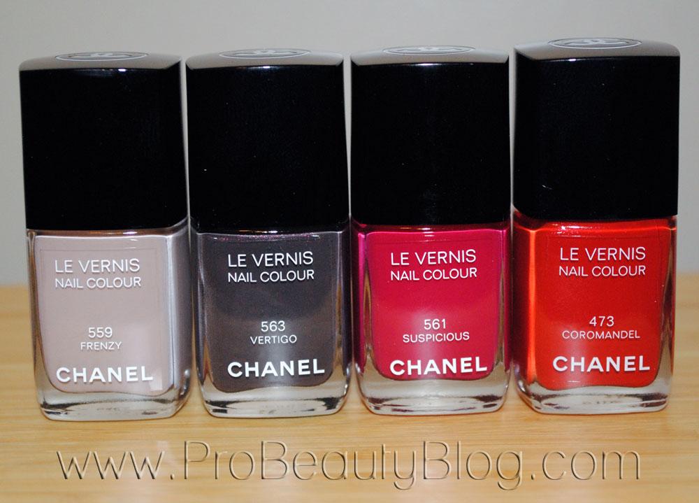 Chanel Le Vernis Nail Colour Frenzy Vertigo Suspicious Coromandel