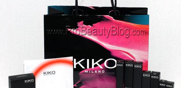 Kiko Makeup Milano NYC Haul
