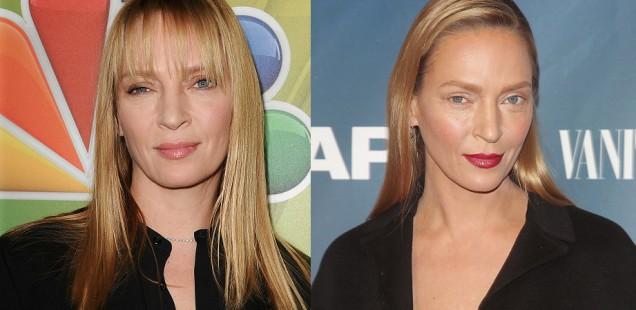 Uma Thurman's New Look: Makeup or Surgery?