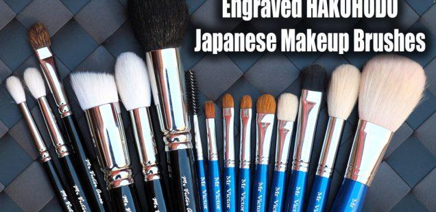TUTORIAL: How To Order Custom Engraved Hakuhodo Makeup Brushes